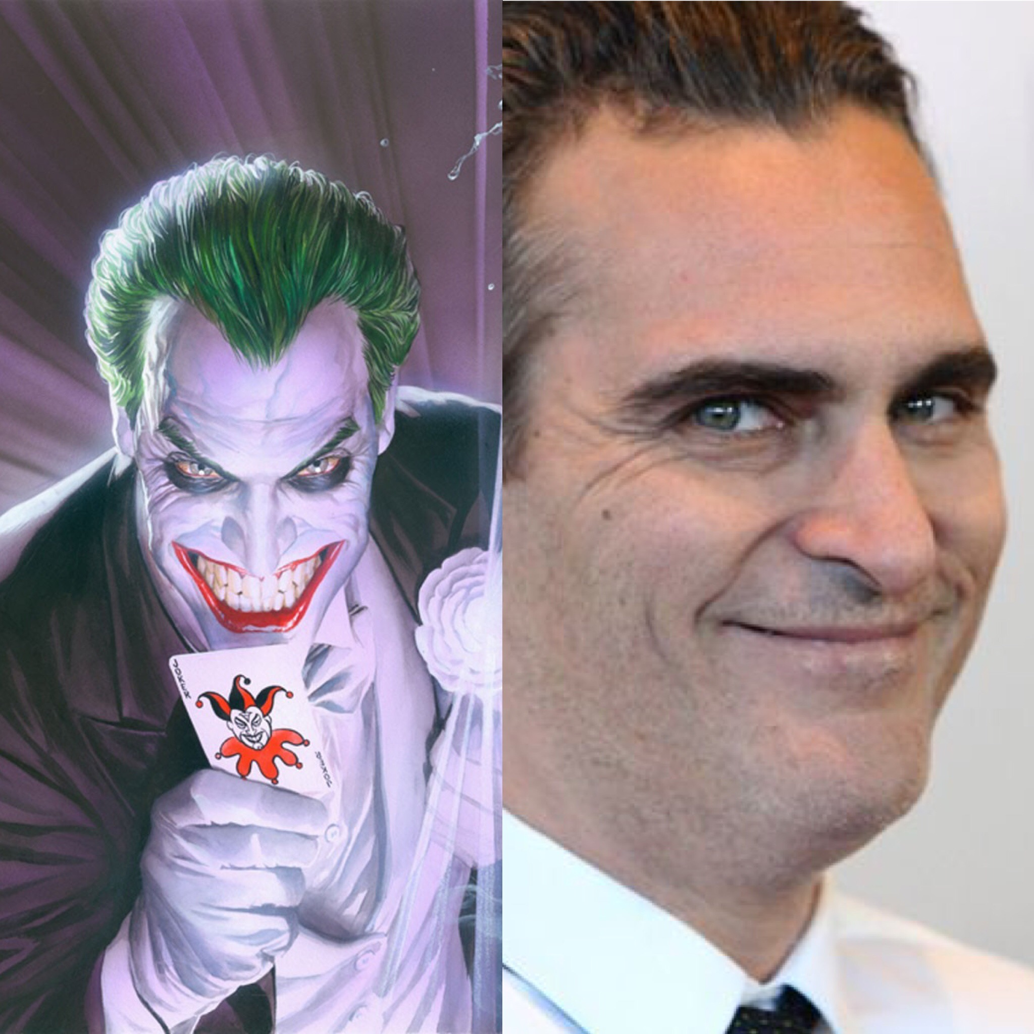 Nothing against Joaquin Phoenix but..