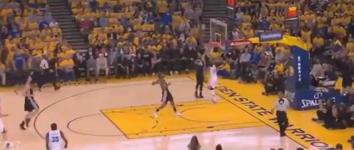 Here's 2 Minutes Of Steph Curry Getting Dunked On And Blocked