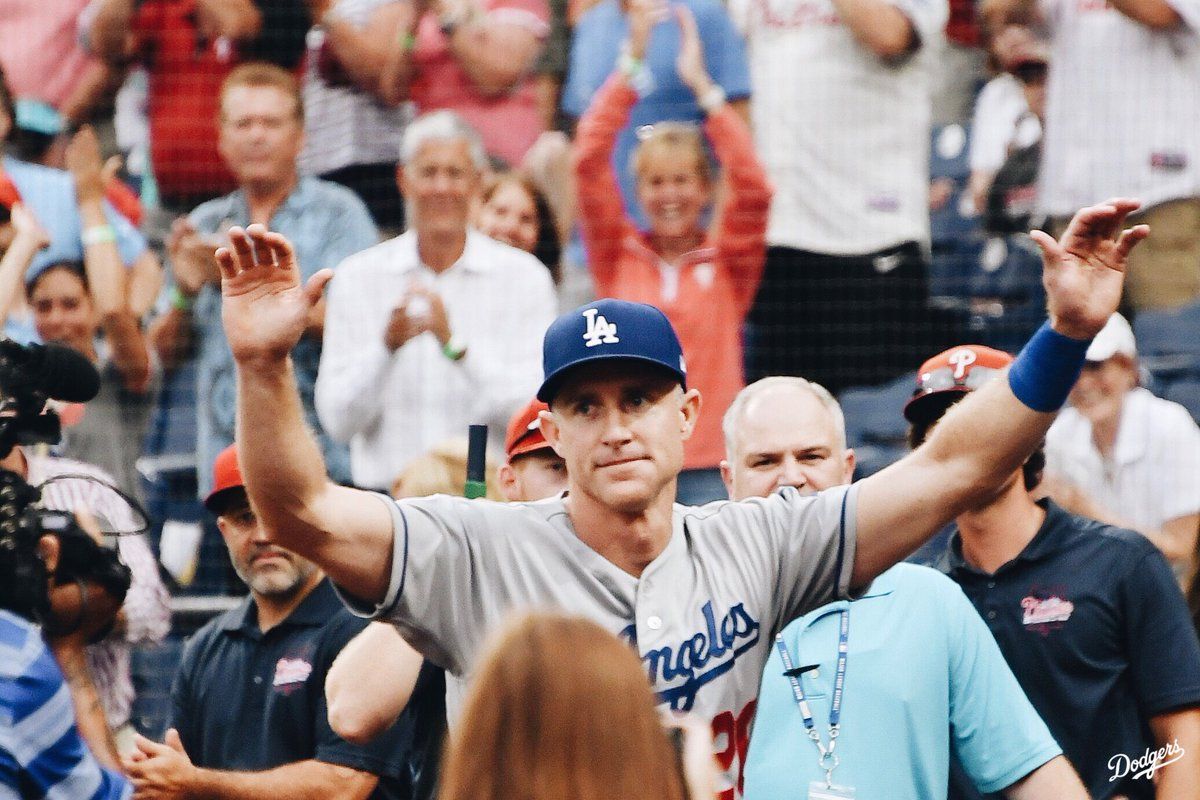 Utley Received A Hero's Welcome Home Last Night