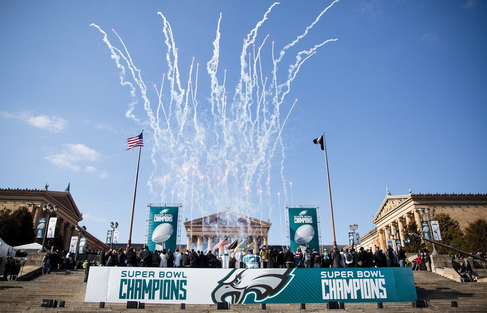 World Champion Eagles Report To Camp Today