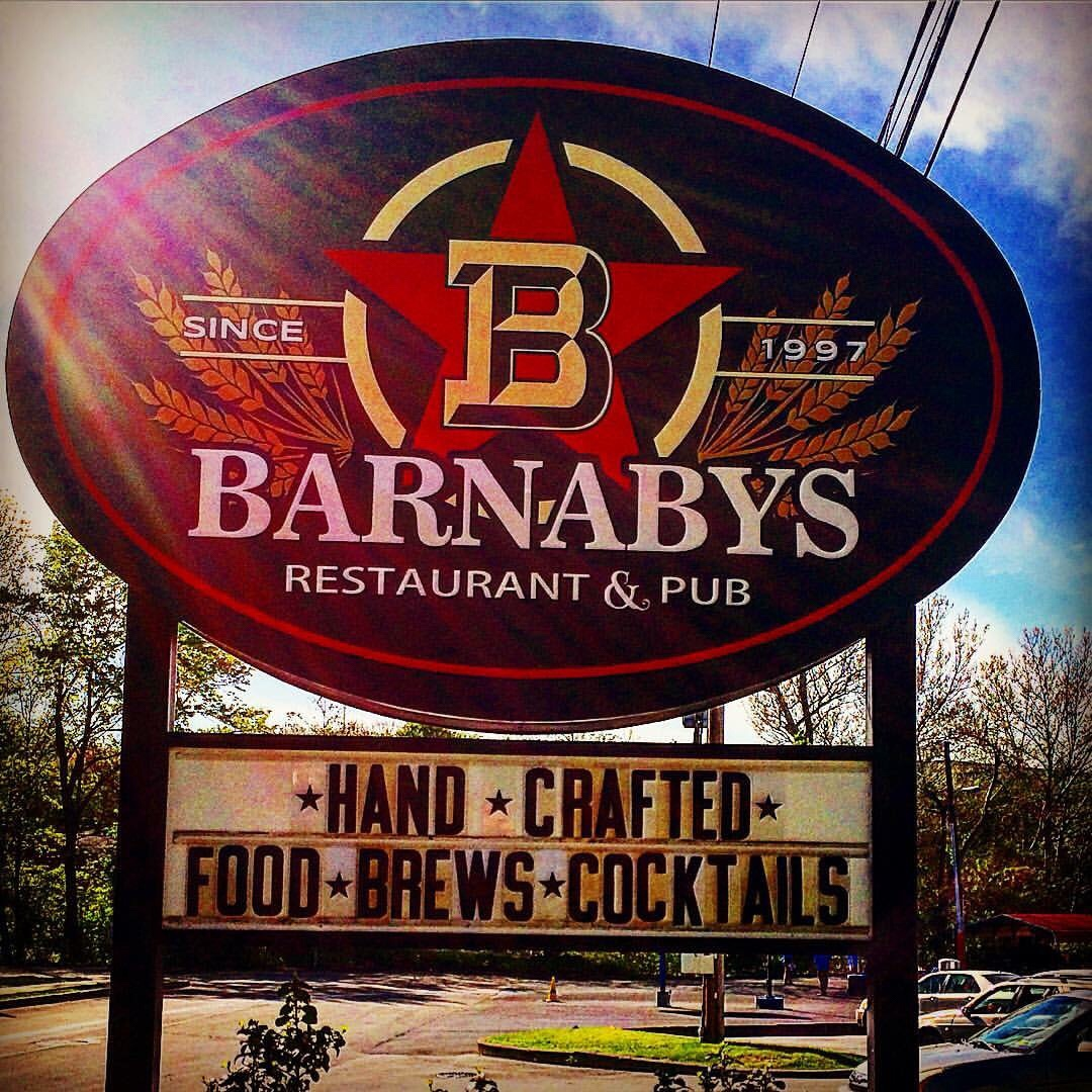 The Branded Hour.  Happy Hour Review:  Barnaby's