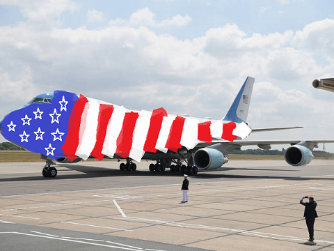 Air Force One is getting a new paint job