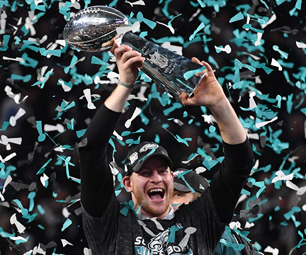 Let The Record Show As Eagles Fans:  TALK THAT SHIT CHAMPS!