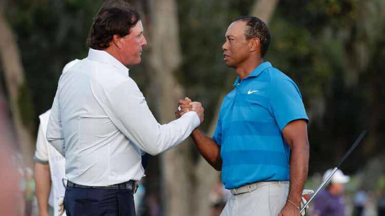 Tiger And Phil Plan Thanksgiving Vaca To Avoid Their Families