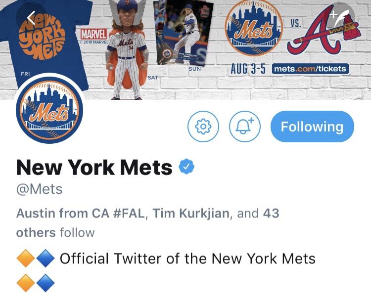 Mets Twitter is 🔥