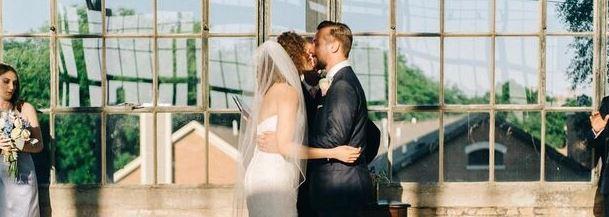 Bridesmaid Face-plants As Newlyweds Kiss