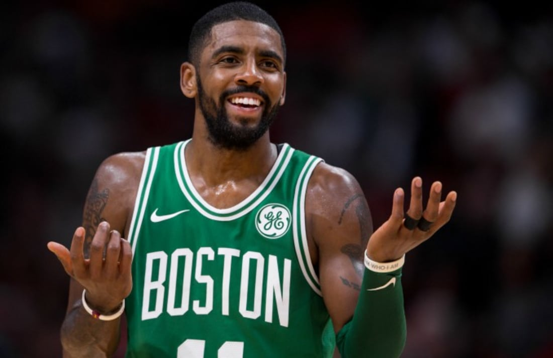 Kyrie Isn't Going Anywhere