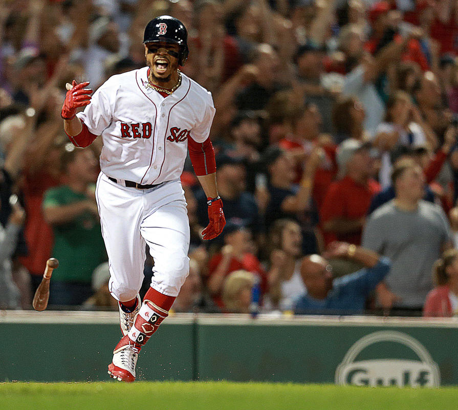 The Red Sox Begin Their 4-Game Sweep of the Yankees this Weekend