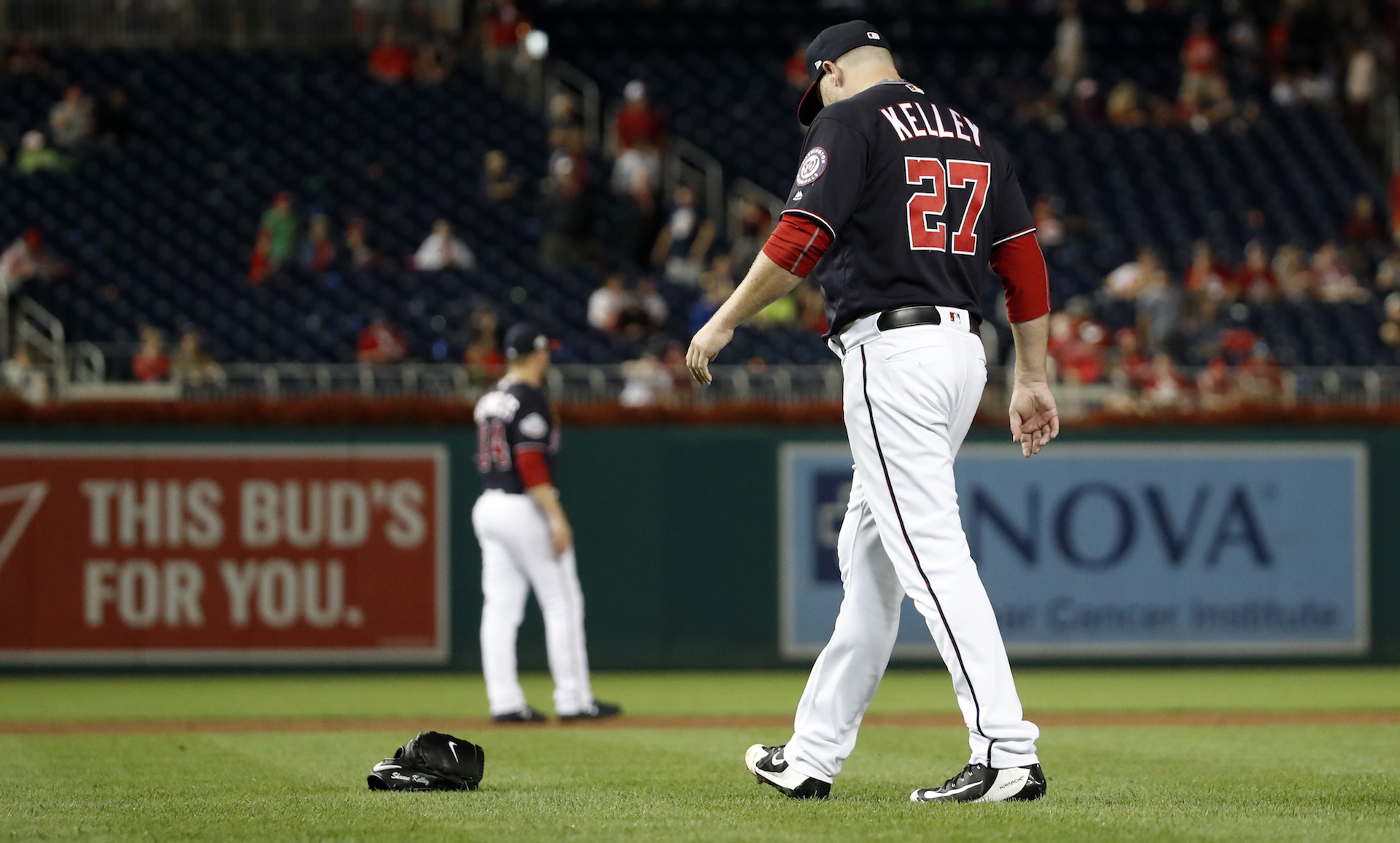 The Nationals Are Acting Like Shawn Kelley Killed Someone