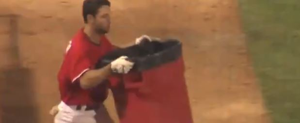 Baseball Player Cursing Like A Sailor And Using Props To Perfection