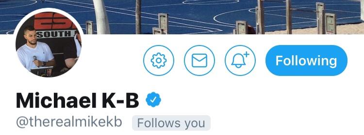 Follow Friday: Michael K-B