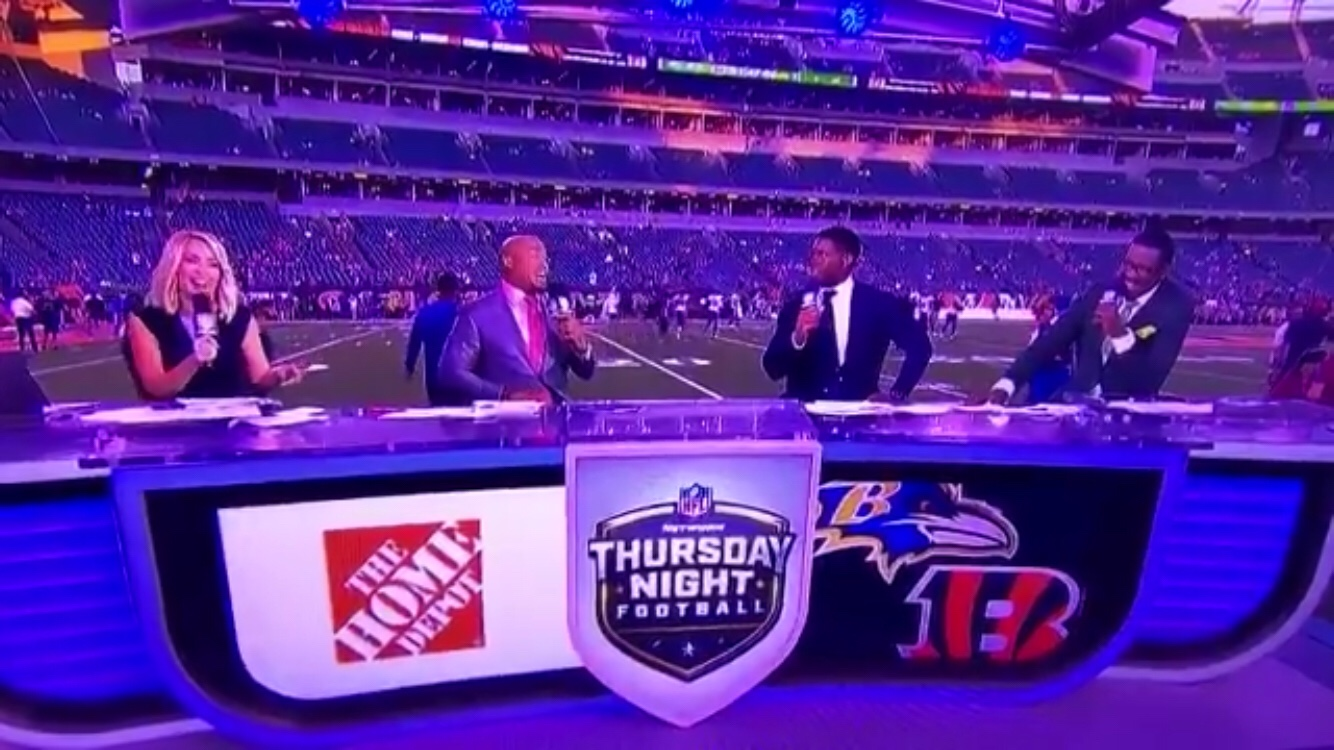 Steve Smith And Michael Irvin Got Into It Last Night During The Broadcast