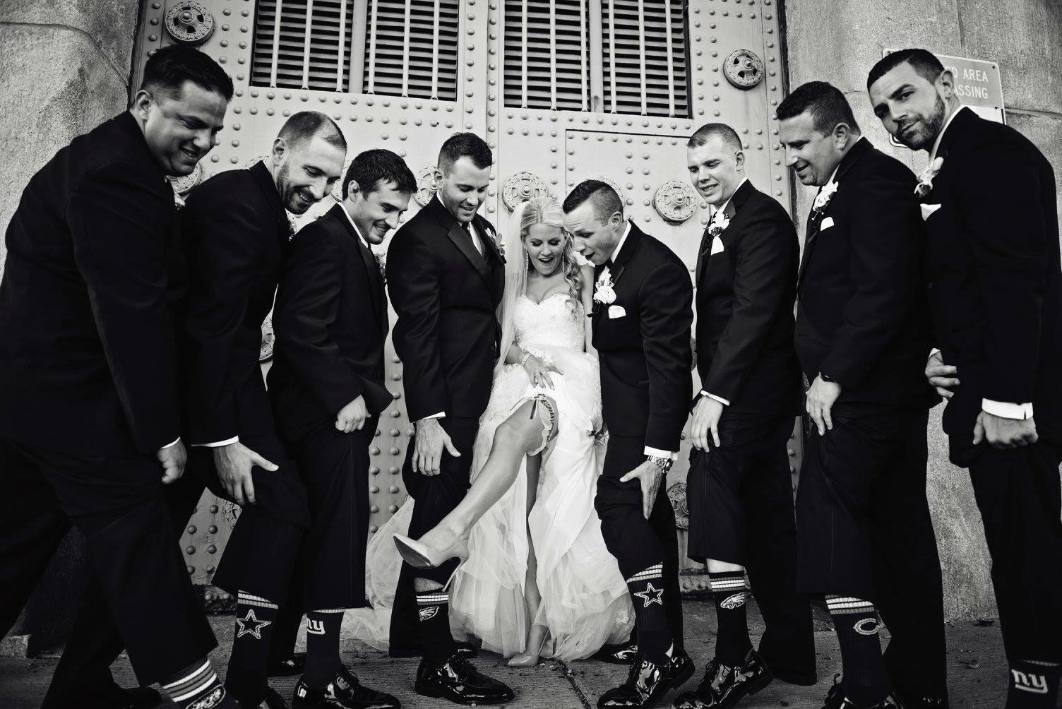 FOOTBALL FRIDAY:  Fall Weddings.