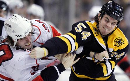 The Bruins Trade Away One Tough Hombre in Adam McQuaid