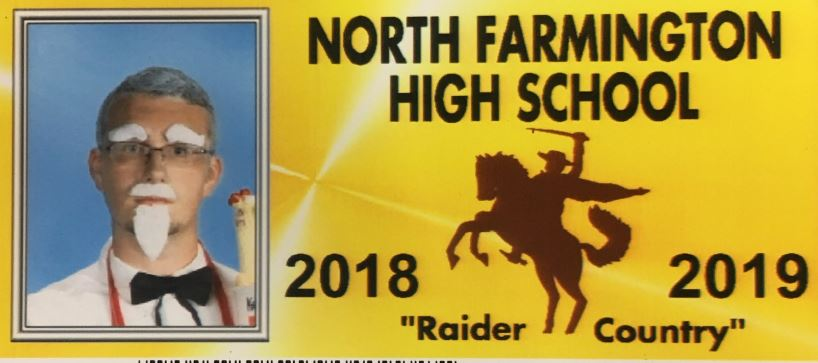 High School Allows Kids To Dress Up For Their ID Photos And Class Of 2019 Didn't Disappoint