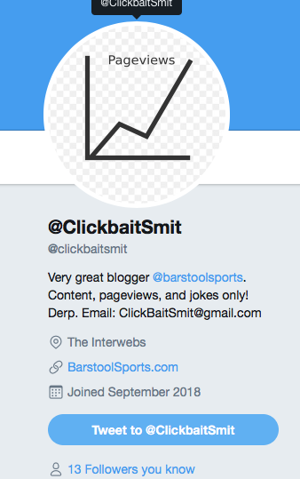 "Barstool Sport's Blogger ""Clickbait Smits"" Has Been Dominating The Internet For One Straight Week, Will He Ever Stop? BREAKING NEWS: He Wont"