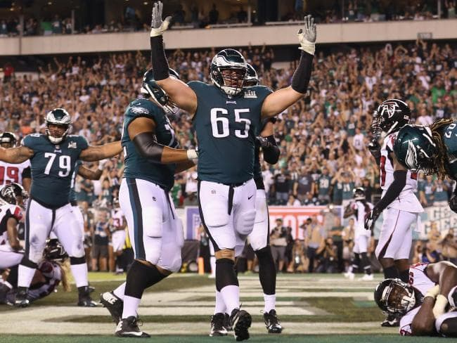 I Hope Lane Johnson Is Still Concerned With The Fun The Patriots Don't Have Because Watching Him Play Football Has Been The Least Fun Thing About The Eagles This Year