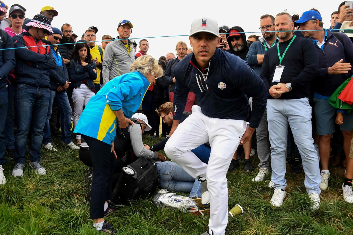A Woman's Eyeball Exploded at the Ryder Cup