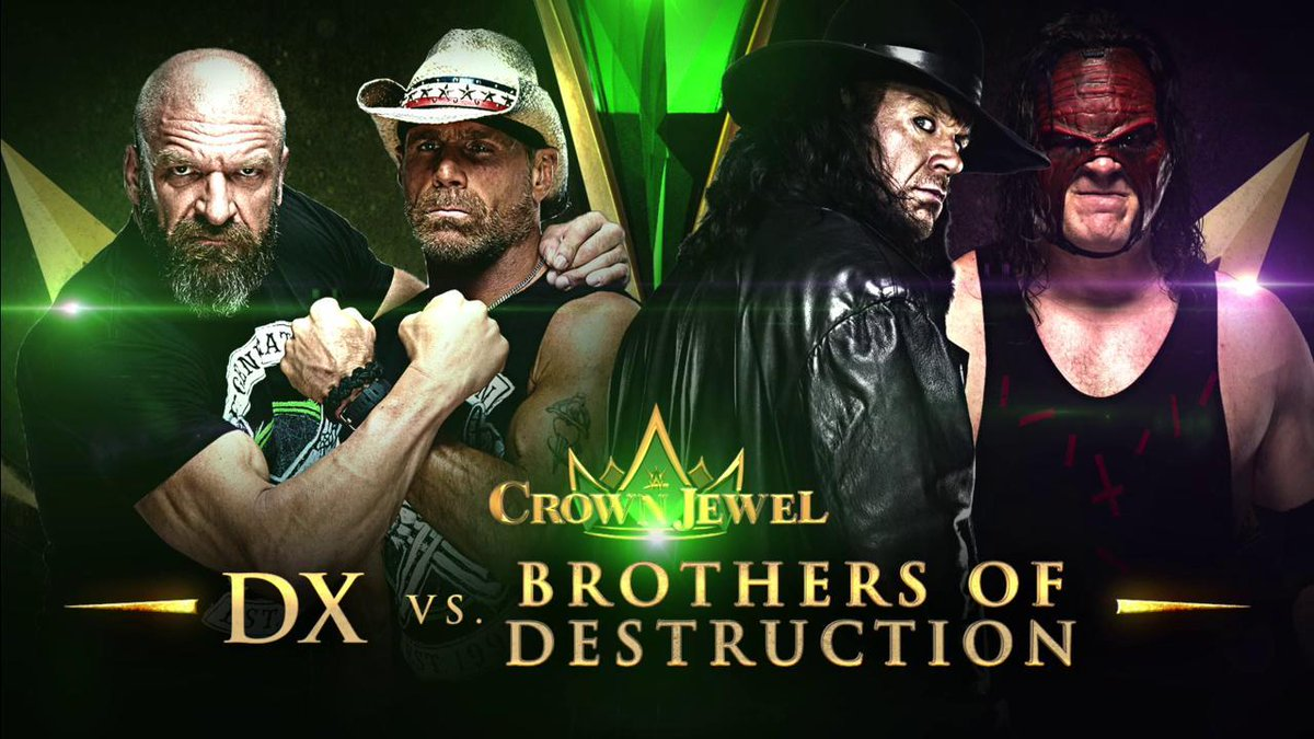 Confirmed: Best Tag Team Match of All Time.
