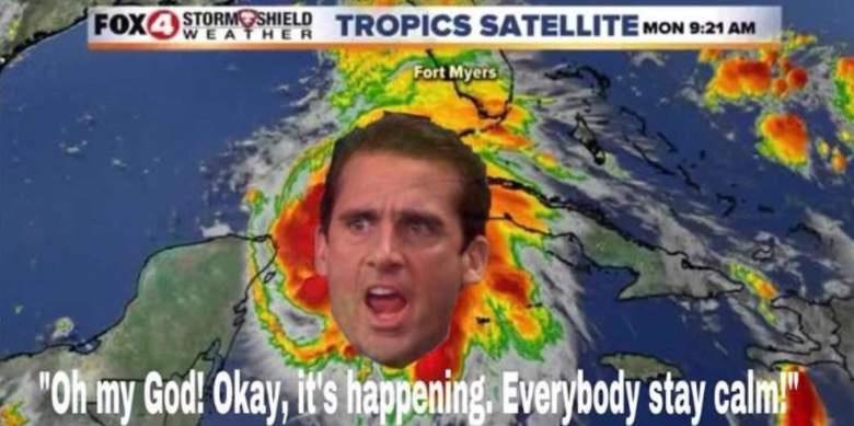 Best Hurricane Michael Memes.