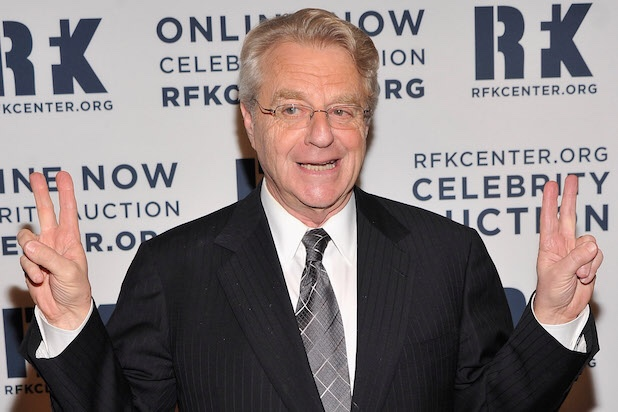 ALL RISE for the Honorable Judge Jerry Springer