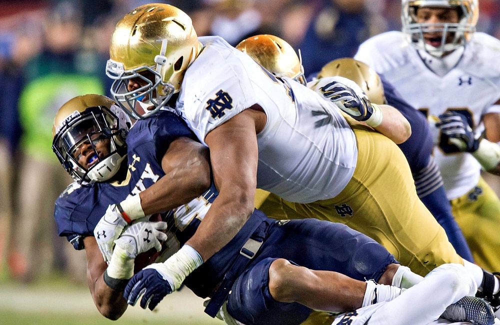 Football Friday:  Notre Dame vs. Navy. A Storied Tradition