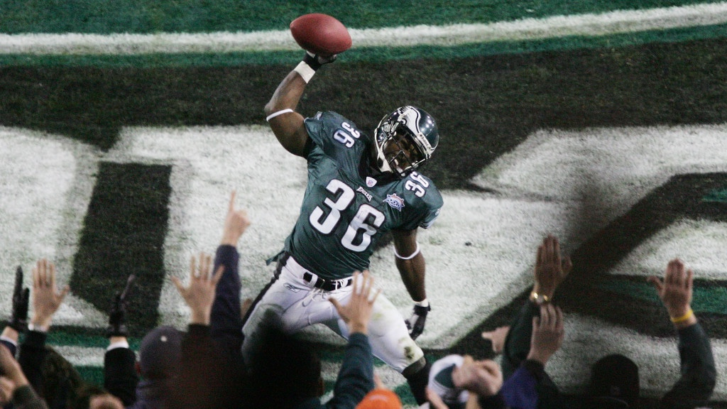 Happy 3 Year Eagles Hall-of-Fame-aversary to #36 Brian Westbrook! #flyeaglesfly