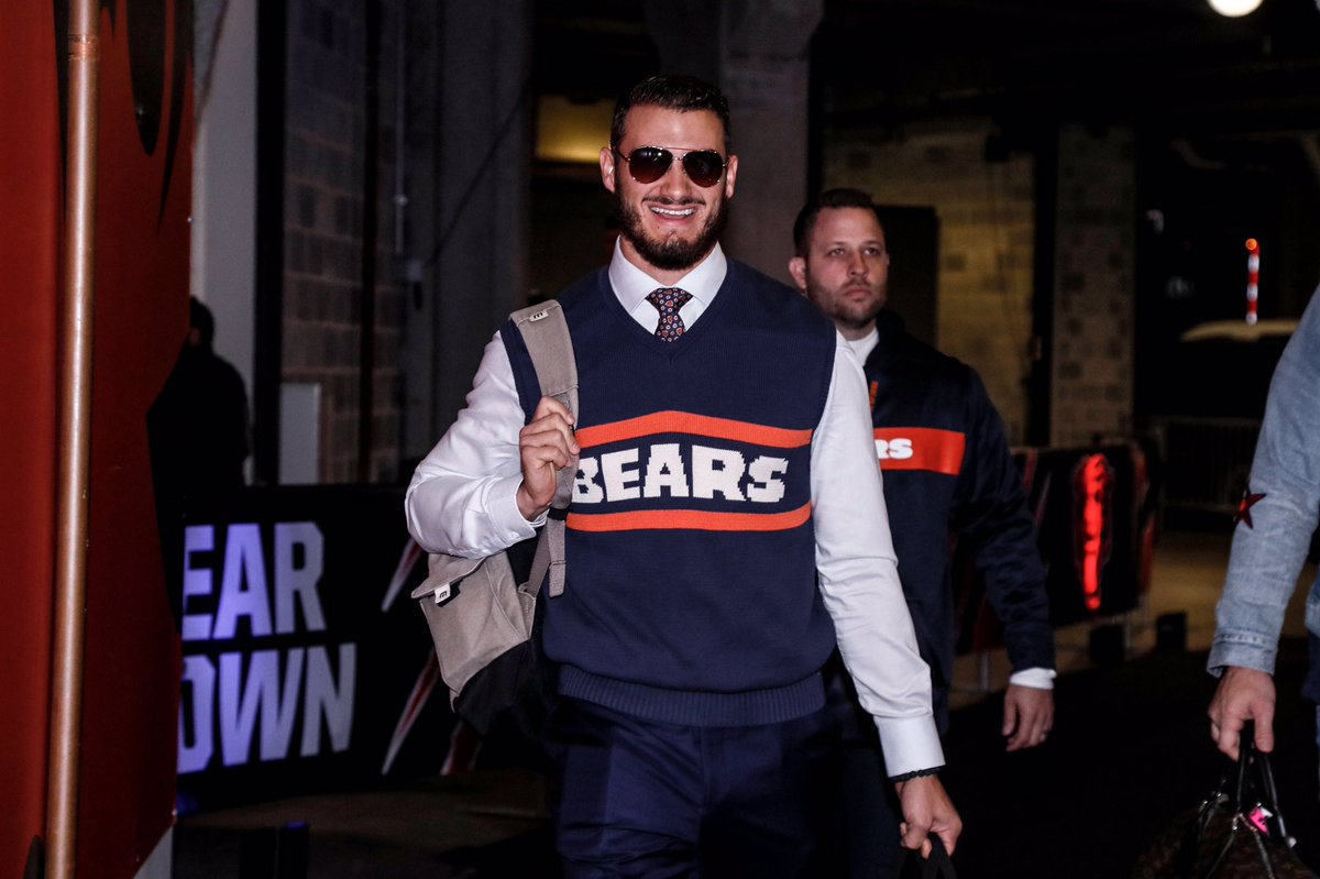 The Powerful Sweater Vest: 8 Thoughts After the Bears Victory Against the Jets