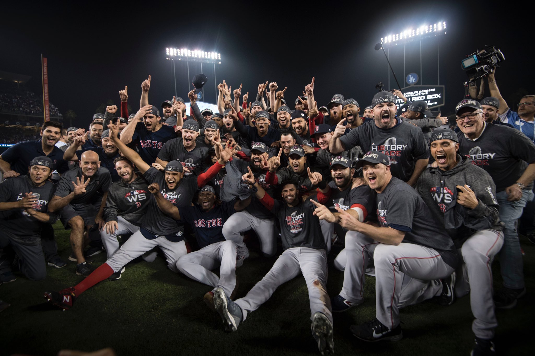 The Boston Red Sox Are Your 2018 World Series Champions!
