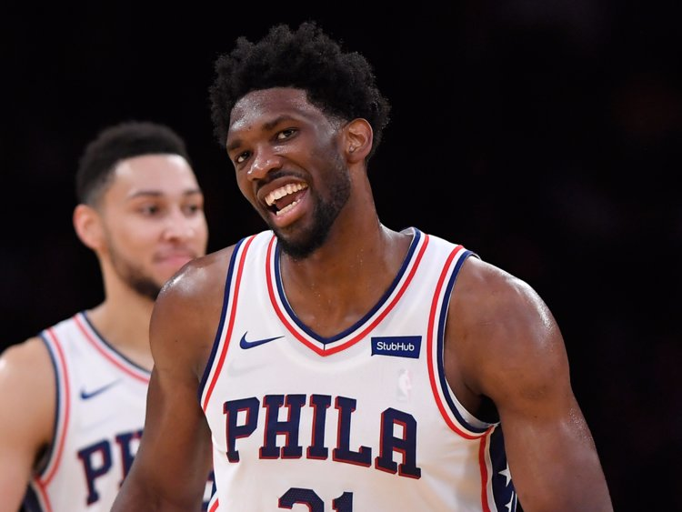 Joel Embiid Caught Playing Pick Up Last Night At A Local YMCA