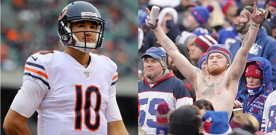 Mitchell Trubisky Knows Bears Fans Shouldn't Be Like The Bills Mafia