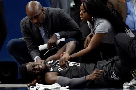 Caris LeVert's Injury Last Night Is One Man's Fault….