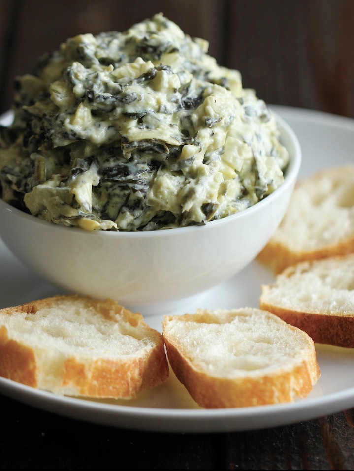 Murt's Man Bait-Spinach and Artichoke Dip #drool
