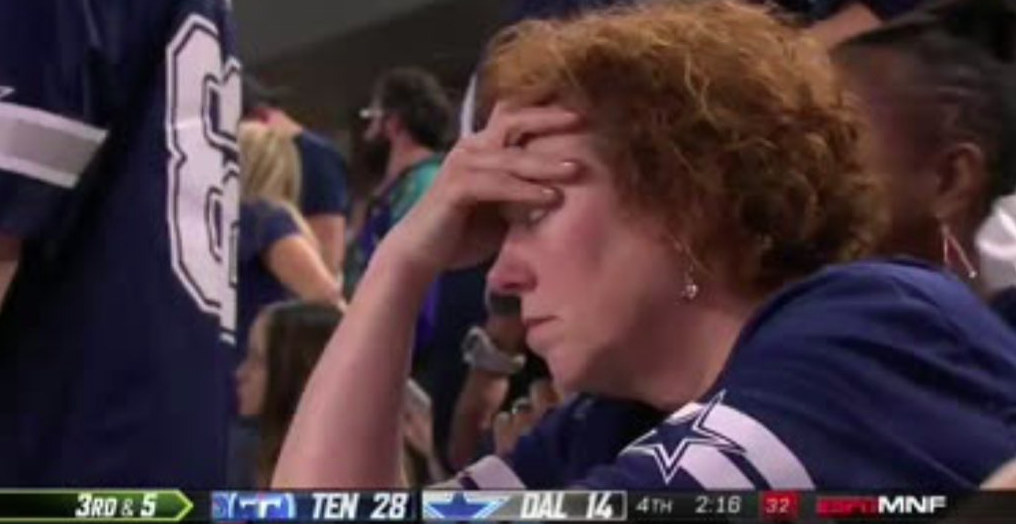 There Are Lots Of Pictures Of Sad Cowboys Fans On Twitter, Please Do Not Look, Please Do Not Tweet