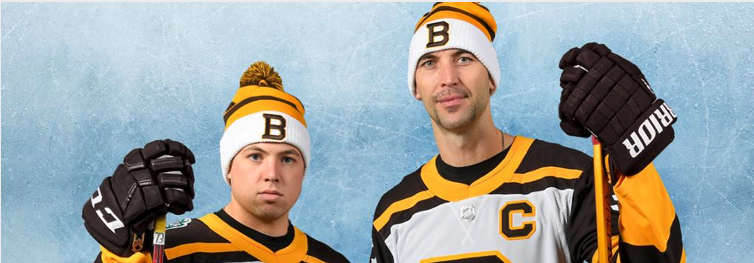 Bruins Release Their 2019 Winter Classic Jerseys