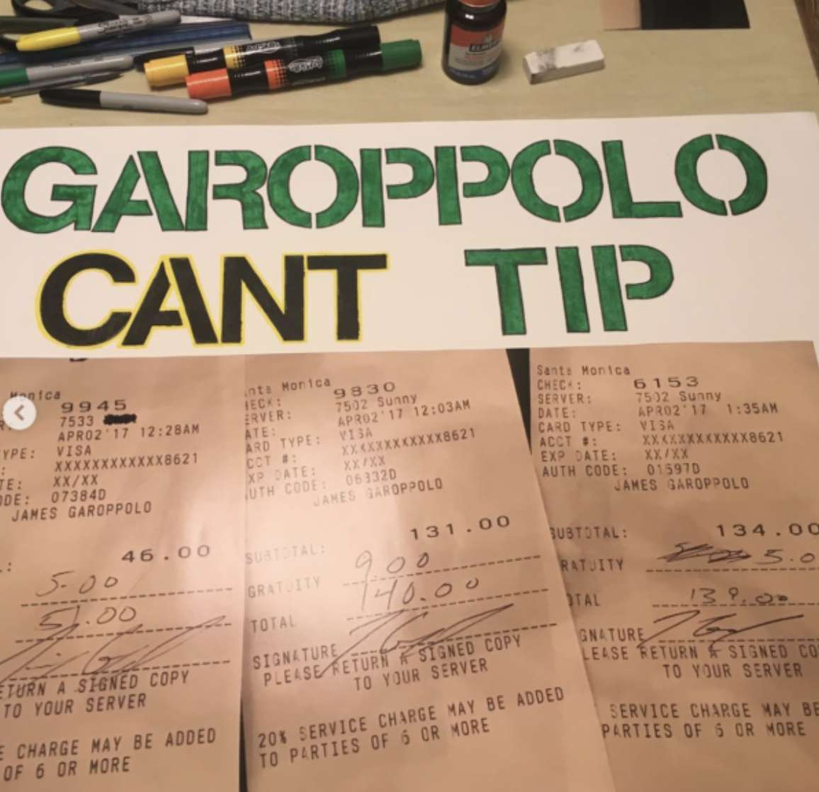 Jimmy G Is Giving No More Than Just The Tip