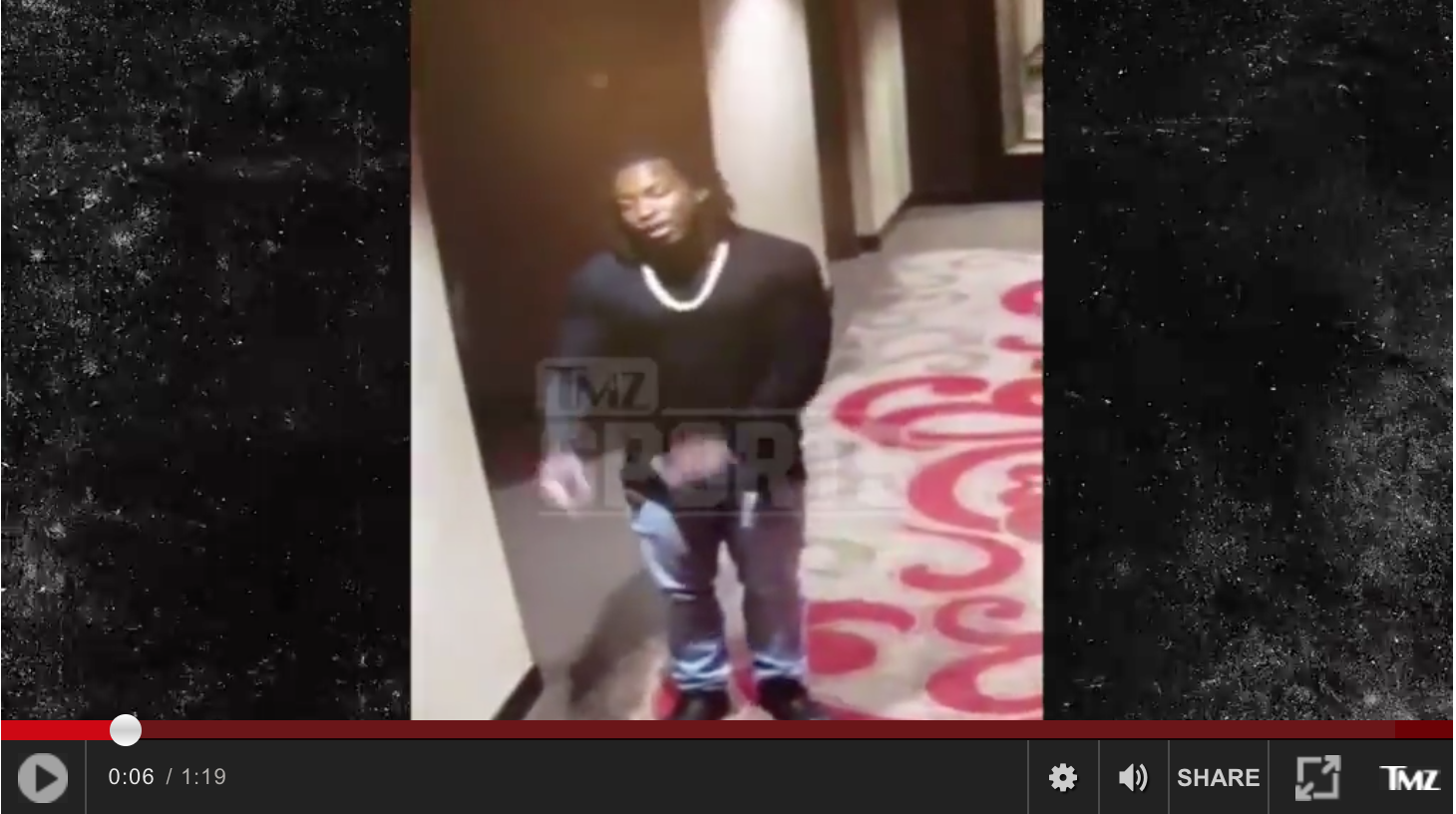"TMZ Just Published Video Footage Of Kareem Hunt's ""Incident"" And It's Disgusting"