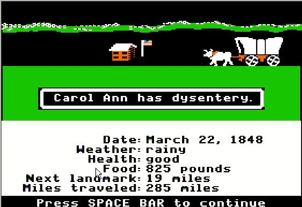 Throwback Thursday: Sorry Fornite, The Oregon Trail Was The Real Test Of Survival