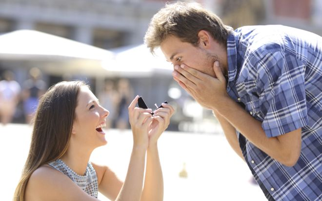 Ladies. Don't Let This Commercial Make You Think It's OK To Propose To Your Man.