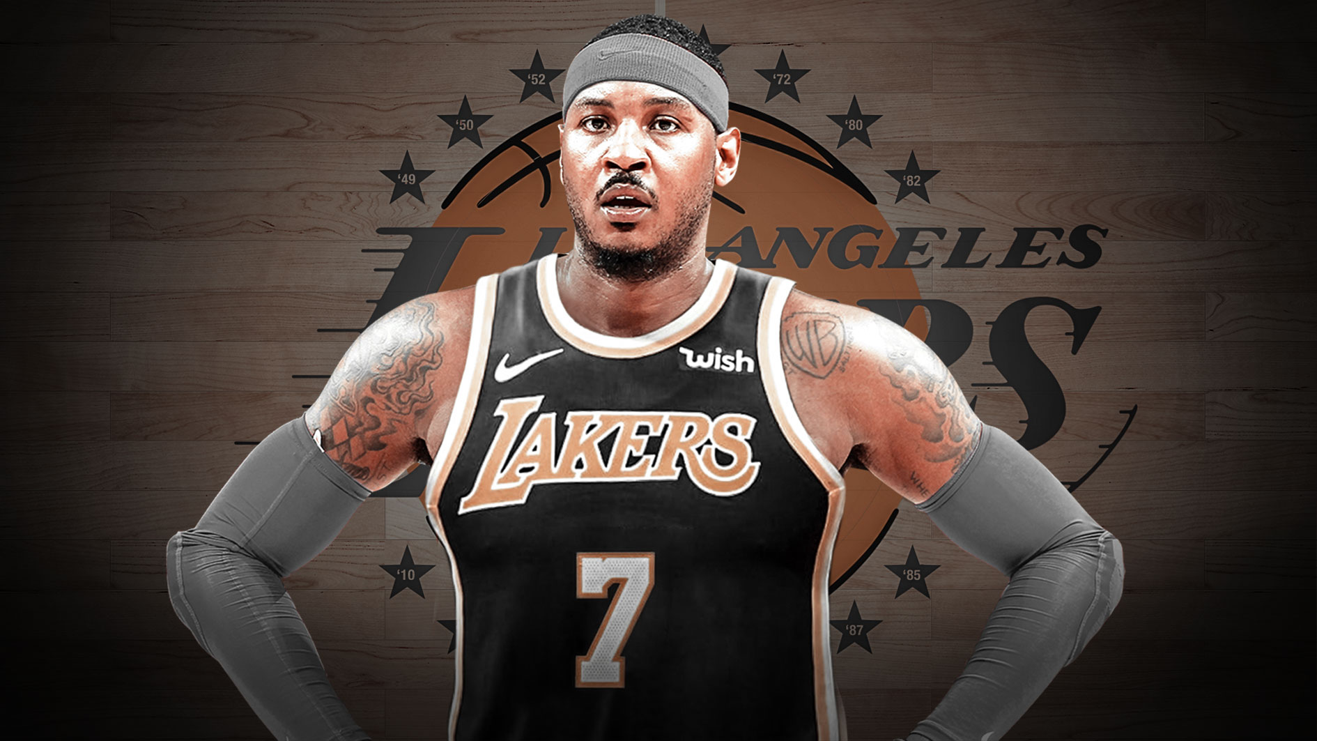 Carmelo Anthony Joining The Lakers Will Push Me Over The Edge