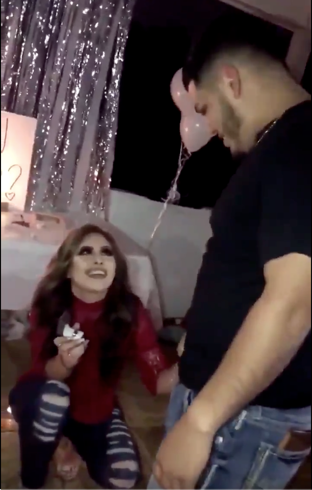 Watch What Happens When This Woman Proposes To Her Boyfriend (And The Easiest I Told You So!)