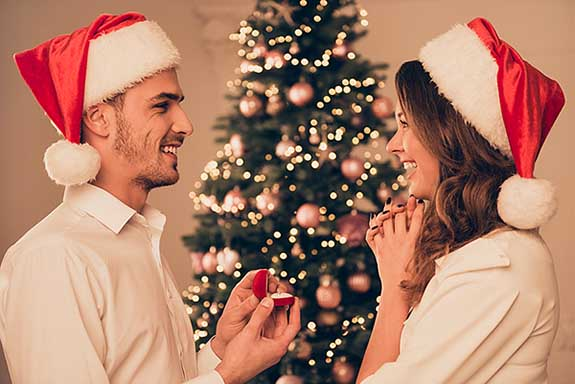 Basic Bitchin' Christmas Edition: The Ol' Getting Engaged During The Holidays