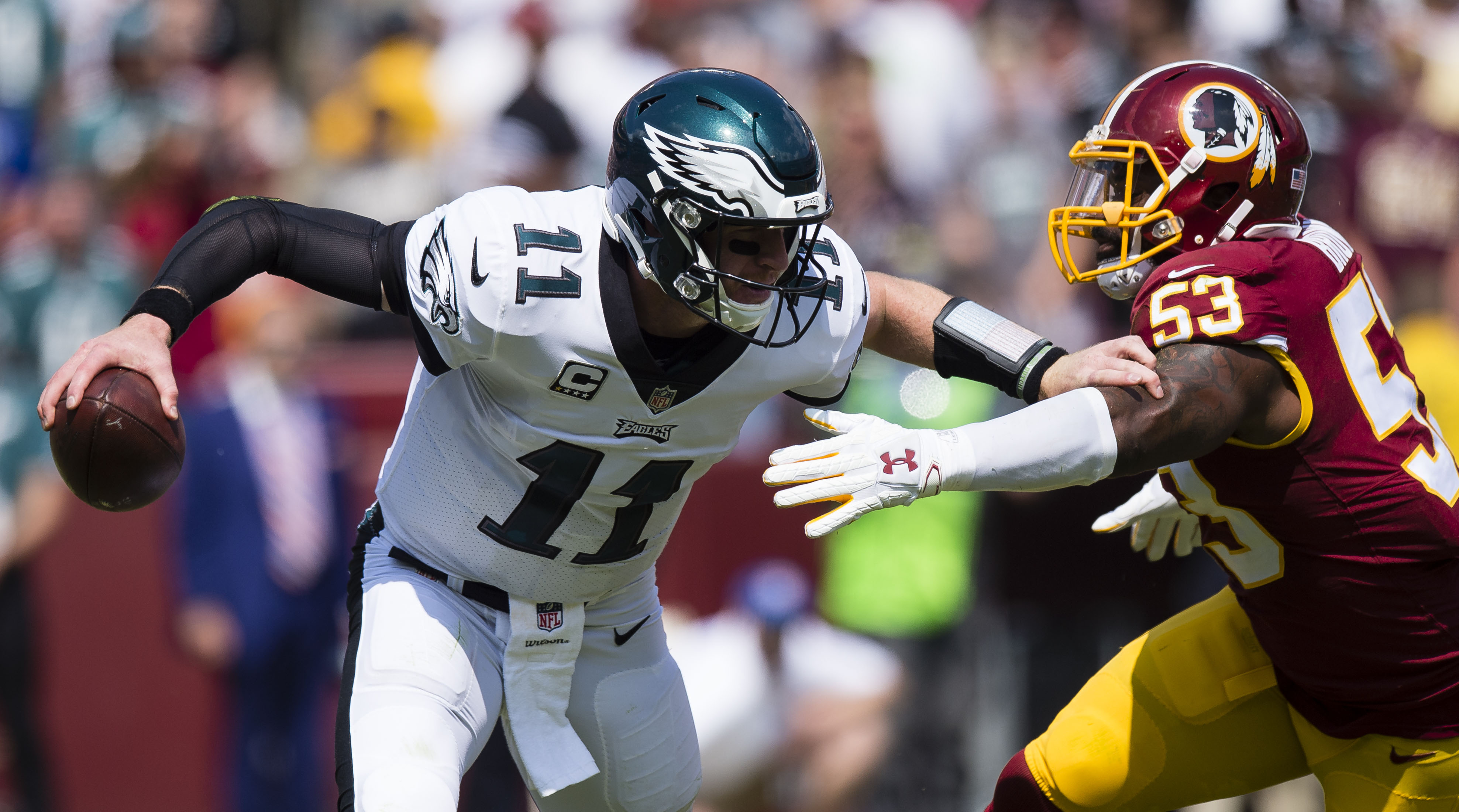 The Entire Season Is On The Line How Do The Philadelphia Eagles Beat The Washington RWords