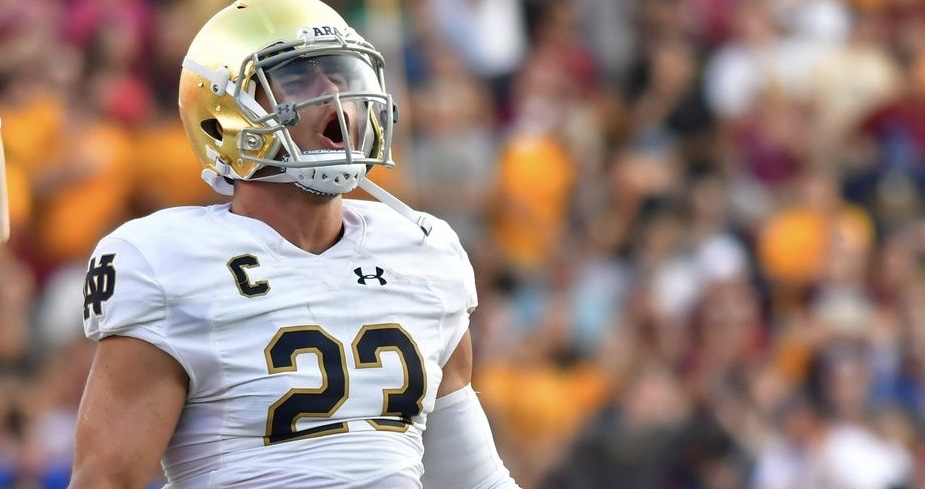 Football Friday:  Drue Tranquill