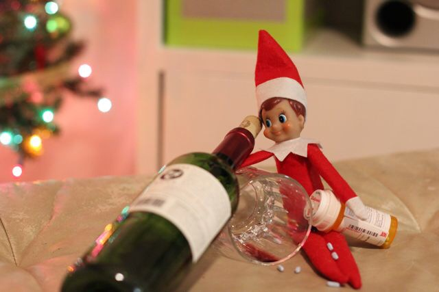 Elf on the Shelf Gone Bad.