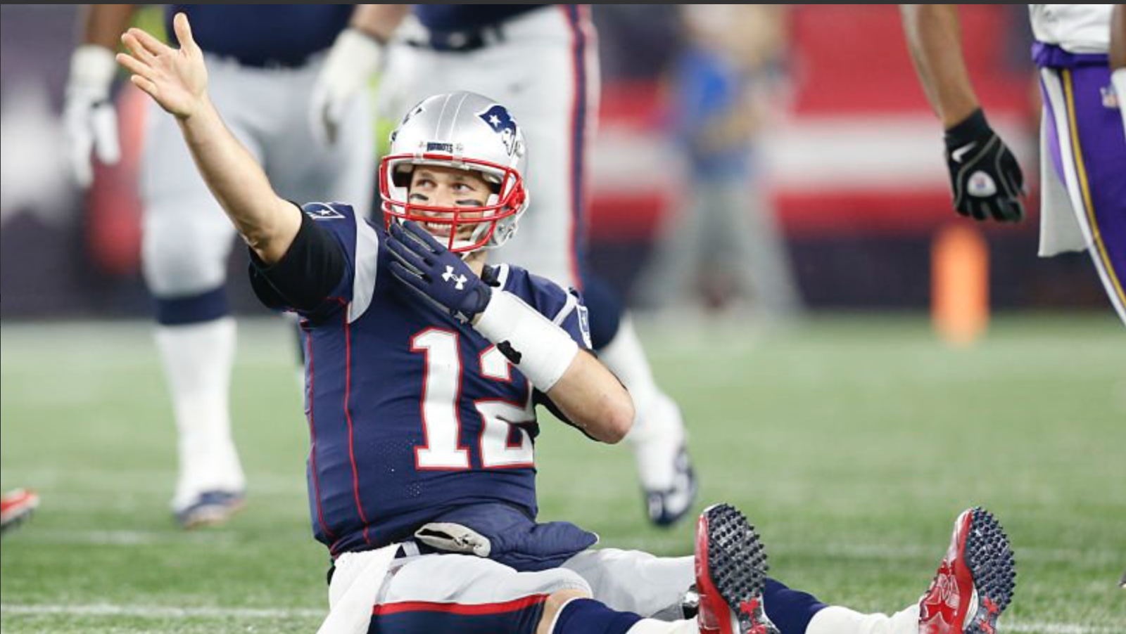 Tom Brady Is Officially A 1,000 Yard Rusher (For Now)