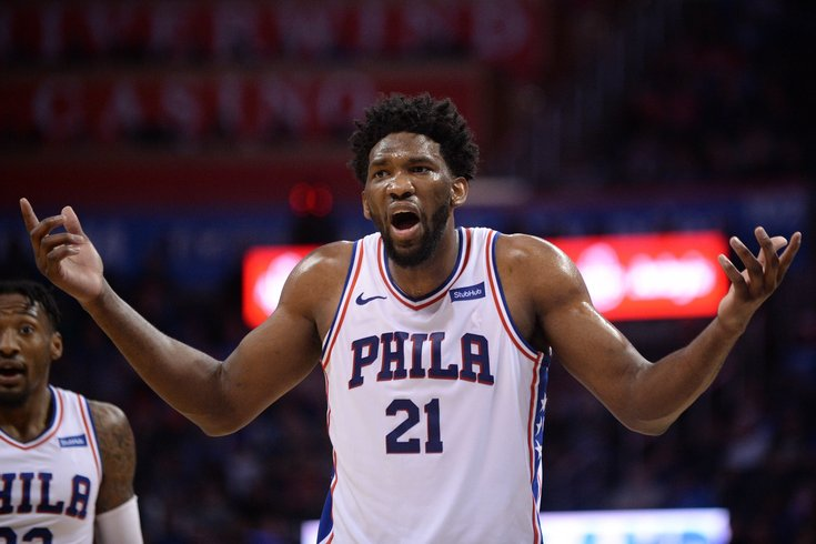 Joel Embiid Plays With Awful Migrane And Explosive Murderous Diarrhea In Flu-Game 2.0