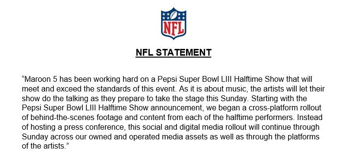 The NFL Mysteriously Cancels Super Bowl Halftime Press Conference. Are We Being Fyre'd?
