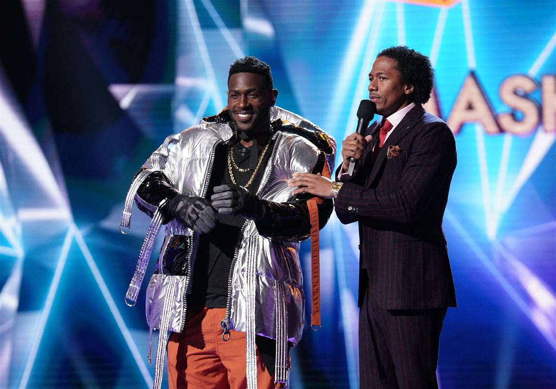 Antonio Brown Was The First Celebrity On The Masked Singer, Because Obviously
