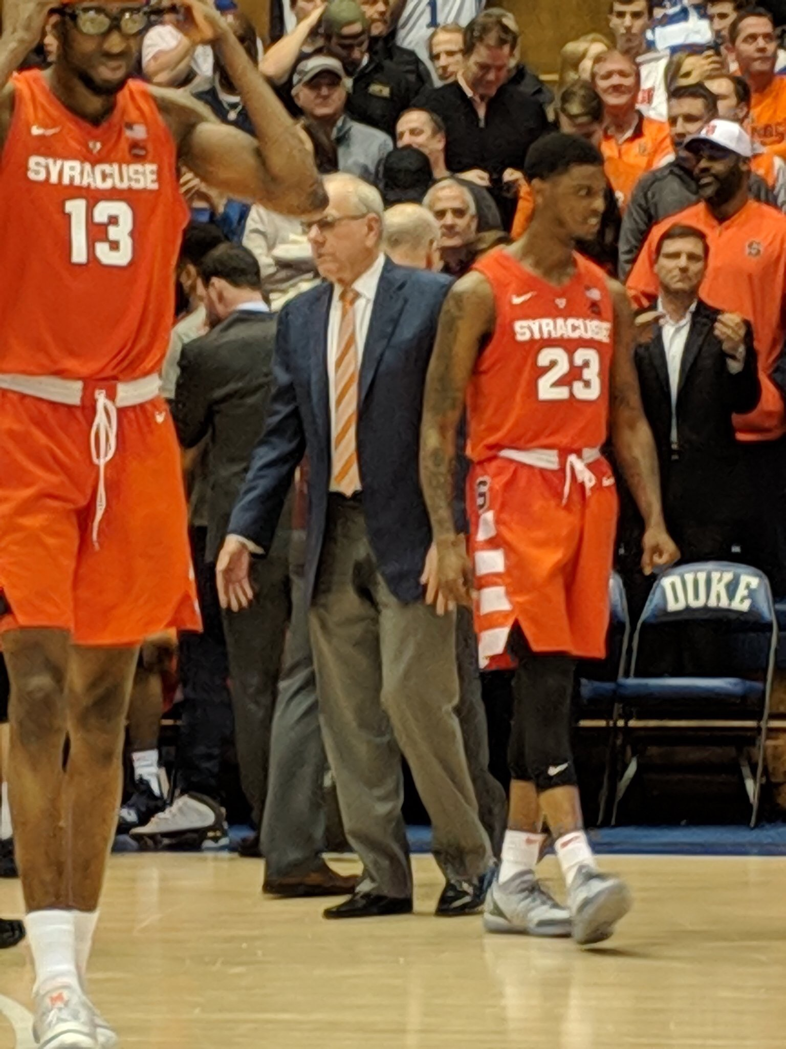 Syracuse Gets A Huge Upset Win. Out Done Only By Jim Boeheim Peeing His Pants